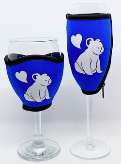 Aussie Wine & Champagne Glass Coolers