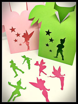 6 pack Mixed Peter Pan & Tinkerbell Party Pack