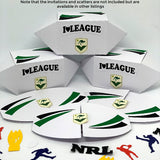 NRL Rugby League Party Favours 6 pack