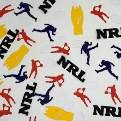 NRL Rugby League Football Party Table Scatters 150 pieces