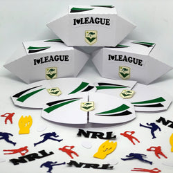 NRL Rugby League Football Party Pack - 6 pack