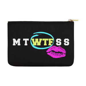 HUGE OVERSIZED NOVELTY COSMETIC BAG Carry-All Pouch 12.5''x8.5''