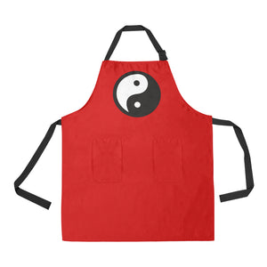 YING YANG UNIQUE NAIL TECH SMOCK APRON