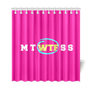 FUNNY NOVELTY SHOWER CURTAIN 69X72