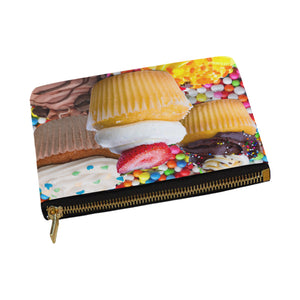 UNIQUE NOVELTY OVERSIZED CUPCAKE2  Carry-All MAKEUP BAG 12.5''x8.5''
