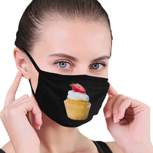 Load image into Gallery viewer, CUPCAKE Nail Tech Dust Mask (2 Designs)