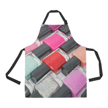 Load image into Gallery viewer, NAIL POLISH NAIL TECH APRON SMOCK