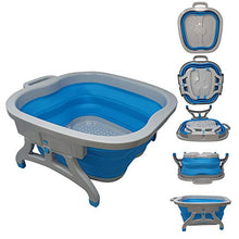 Load image into Gallery viewer, Large Foot Soaking Tub, Mobile Pedicure Tub, foot bath, MOBILE Spa Pedicures