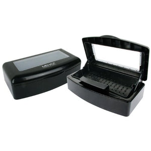 Mehaz Professional NAIL TECH BLACK Disinfectant Tray Pedicure Tools