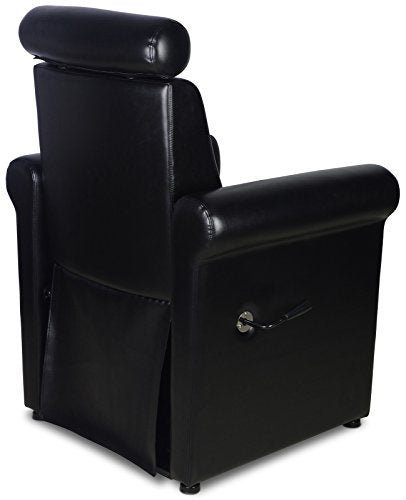 Black Pedicure Foot Spa Station Chair (FOOT TUB NOT INCLUDED)