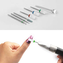 "Load image into Gallery viewer, Ceramic Nail Drill Bits 7Pcs Nails File Bit 3/32""  Acrylic Gel Nails"