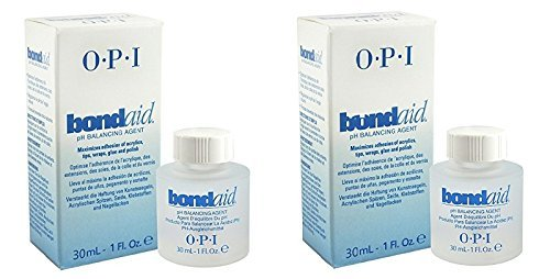 2 PACK of Bond Aid Nail Prep Dehydrator Treatment 1oz/30ml