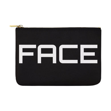 OVERSIZED UNIQUE MAKEUP COSMTIC BAG  12X8.5 4 COLORS