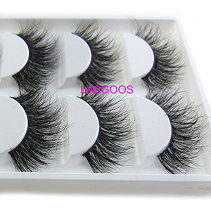2Box/Lot 3D Real Mink False Eyelashes TOTAL 10 PAIRS