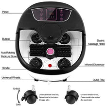 Load image into Gallery viewer, Foot Spa Bath with Heat and Massage and Bubble Jets, Motorized Shiatsu Jets