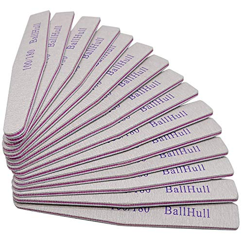 Professional Grade 25PCS Nail Files Grit 100/180