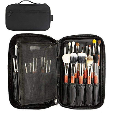 Makeup Brush Organizer Makeup Artist Case with Belt Strap Holder 3 COLORS