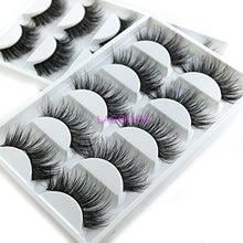 Load image into Gallery viewer, 2Box/Lot 3D Real Mink False Eyelashes TOTAL 10 PAIRS