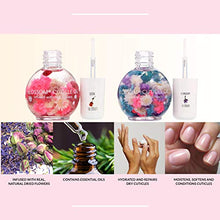 Load image into Gallery viewer, 2Pk Blossom Scented Cuticle Oil Infused with Real Flowers Twin Pack