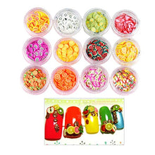 Load image into Gallery viewer, 3D Fruit Slices Nail Art Decorations Strawberry lime Slices
