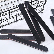 Load image into Gallery viewer, 10x 180/100 Black Heavy Duty Nail Files