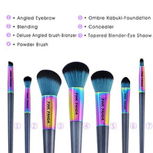 Load image into Gallery viewer, Makeup Brushes 7 Pc Professional Makeup Brush Set Premium Synthetic