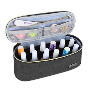 Nail Polish Carrying Case  Manicure Set (Bag Only)