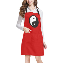 Load image into Gallery viewer, YING YANG UNIQUE NAIL TECH SMOCK APRON