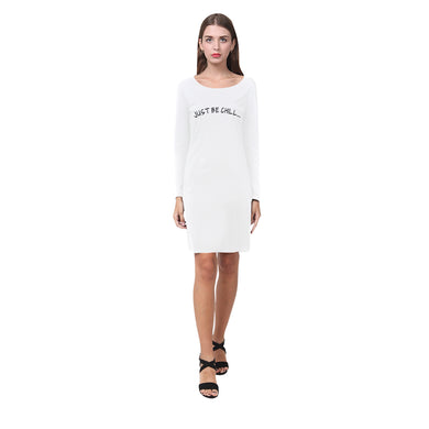 CHIC COTTON WHITE DRESS