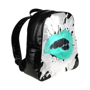 Unique Statement Xray Lipstick Makeup Unisex Back Pack