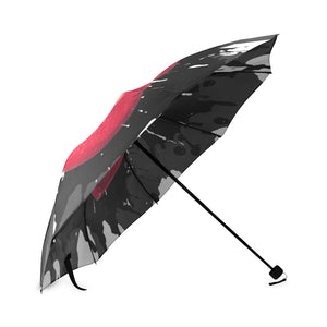 Makeup Lipstick Designer Foldable Umbrella