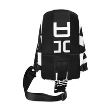 Load image into Gallery viewer, BODY BAG CROSS BODY MESSENGER BLACK AND WHITE Chest Bag