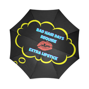 Unique Makeup LIPSTICK Foldable Umbrella