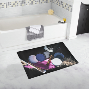 Unique Novelty Girly Makeup Shower Bath Rug 20''x 32''