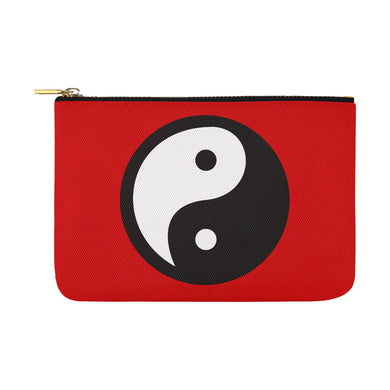 YING YANG UNIQUE NOVELTY OVERSIZED MAKEUP BAG