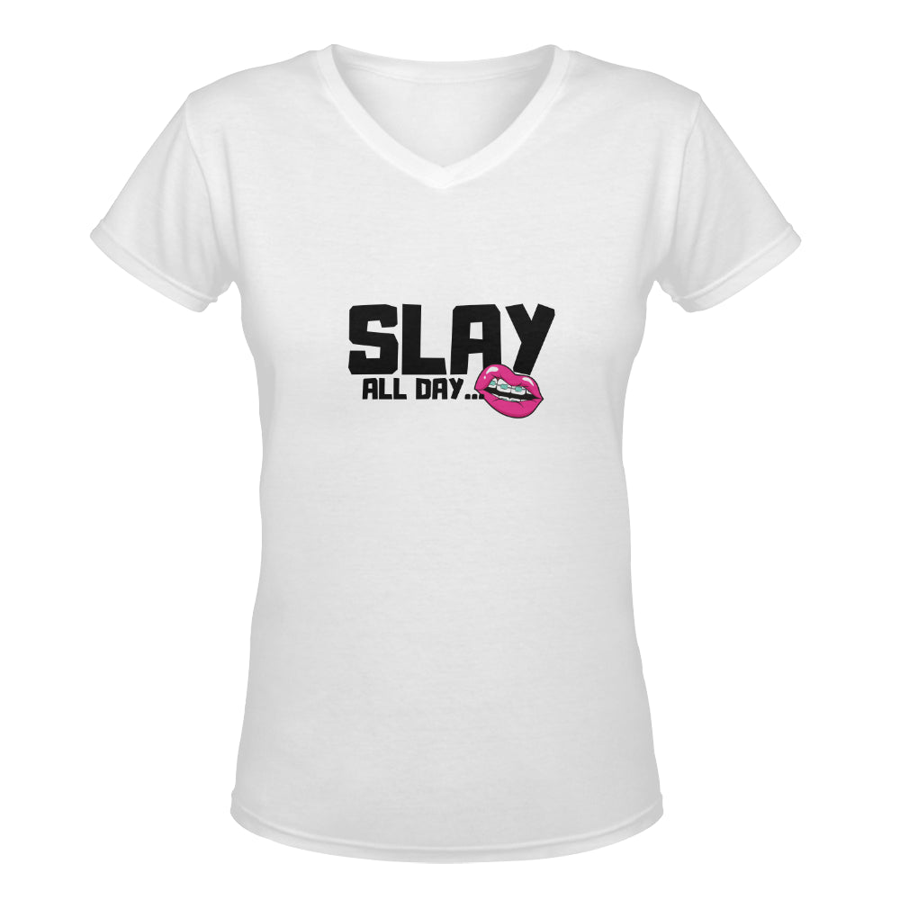 SLAY WOMEN UNIQUE NOVELTY TSHIRT 4 COLORS UP TO 2XXL