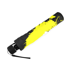 REALLYRAIN YELLOW UNIQUE UMBRELLA Foldable