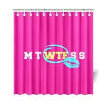 Load image into Gallery viewer, FUNNY NOVELTY SHOWER CURTAIN 69X72