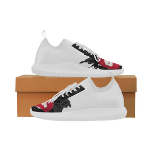 Makeup Lips Ultra Light Running Shoes for Women