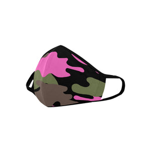 CAMO PINK NAIL TECHNICIAN FACE DUST MASK Mouth Mask