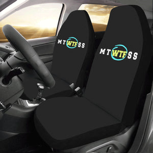 2X NOVELTY FUNNY UNIQUE UNISEX CAR SEAT COVERS