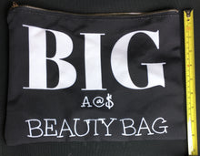 Load image into Gallery viewer, Oversized HUGE 12x8.5 Unique Beauty Cosmetics Makeup Bag