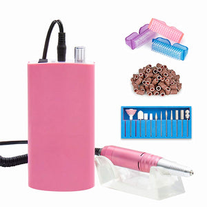 Rechargeable Mobile nail drill EFILE colors 30,000PRM