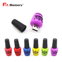 Load image into Gallery viewer, Nail Polish BOTTLE Usb 2.0 Flash Drive 128GB 64GB 32GB 16GB 8GB