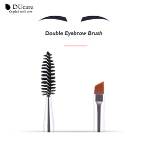 Double Eyebrow Brush+Eyebrow Comb beauty cosmetic brush eyebrow makeup brushes for eyeBrow Brush blending eye