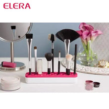 Load image into Gallery viewer, Flexible Professional Silicone Makeup Brush Storage Holder
