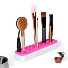 Load image into Gallery viewer, makeup brush holder silicone organizer for makeup brushes