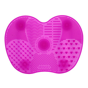makeup brush silicone cleaning pad