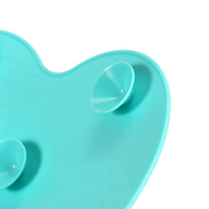 Silicone Makeup brush cleaner pad with Suction Cups