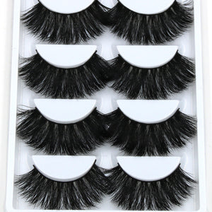 5x pairs Thick Long FAUX Mink Eye Lashes